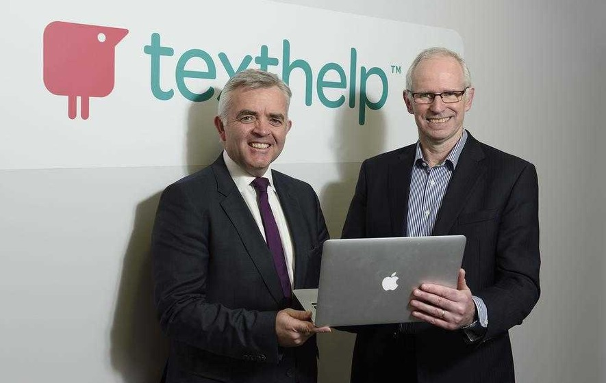Antrim software firm Texthelp creates 25 jobs to aid overseas expansion