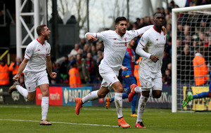 Ten-man Liverpool secure comeback win at Crystal Palace