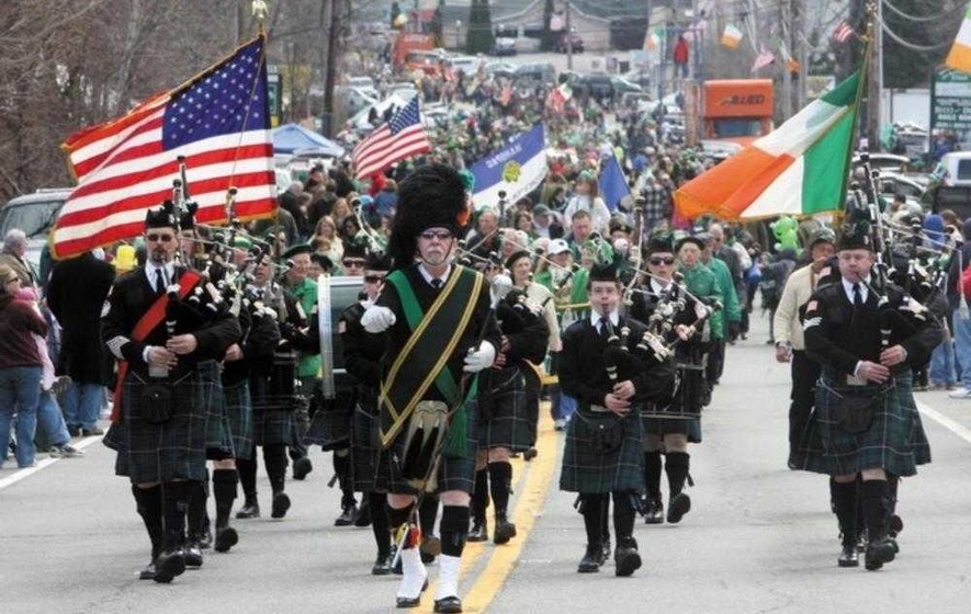 Image result for st. patrick's parade new york