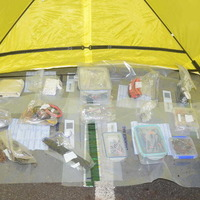 Police put Carnfunnock bomb-making equipment on display