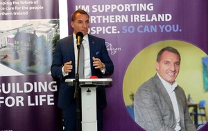 Ex-Liverpool boss Brendan Rodgers is hospice ambassador
