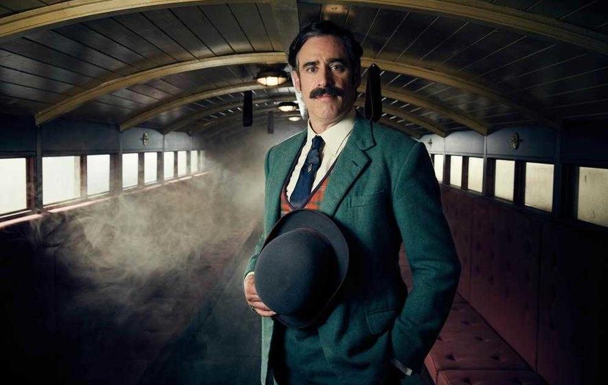 Elementary magic: Stephen Mangan stars in supernatural crime series Houdini & Doyle