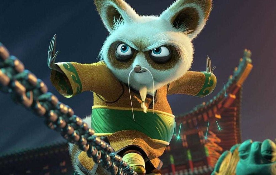 Dustin hoffman on kung fu panda 3 and 50 years in the - Kung fu panda shifu ...