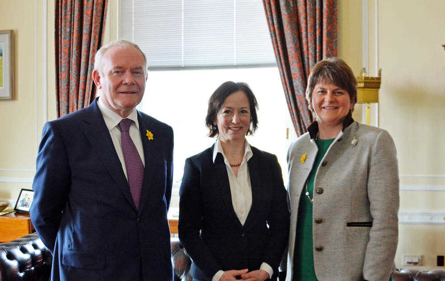 Foster and McGuinness unveil new targets for improving quango board diversity