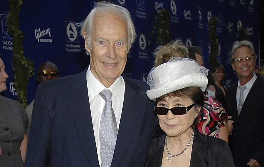 Fifth Beatle Sir George Martin dies peacefully at home, aged 90