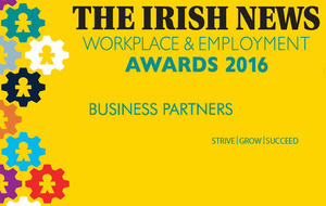 The Irish News Workplace & Employment Awards 2016 Sponsors
