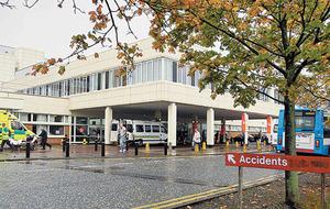 Suspected gas leak closes Craigavon Area Hospital