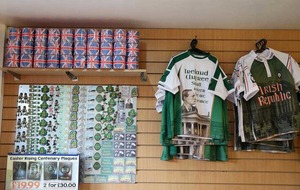 Falls Road Fenian cafe with 'IRA' sign defends selling Union flag toilet tissue