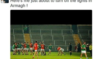 Sean Quigley sees the funny side of #lightswitchgate