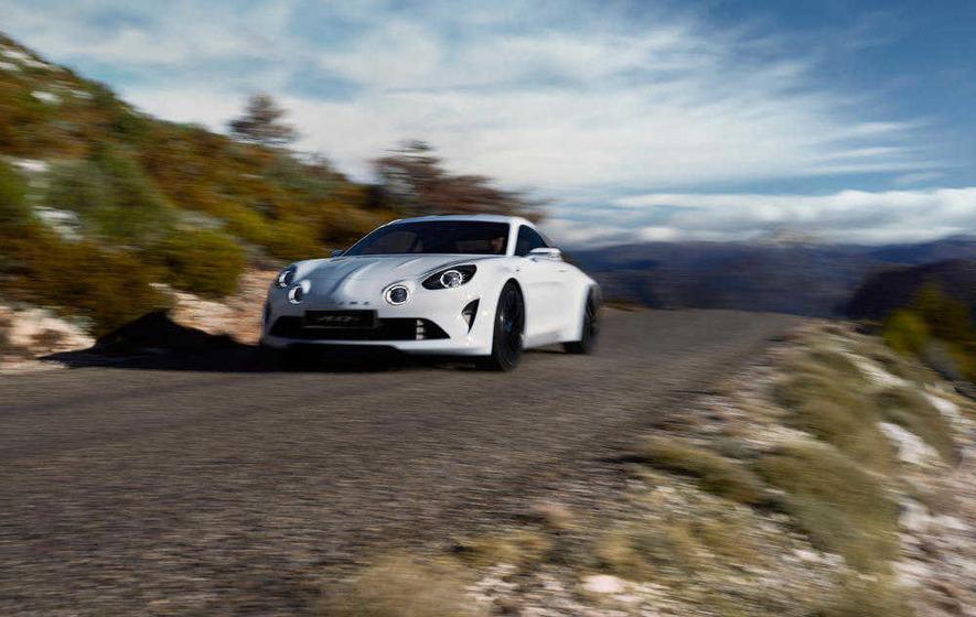 Renault's Alpine resort