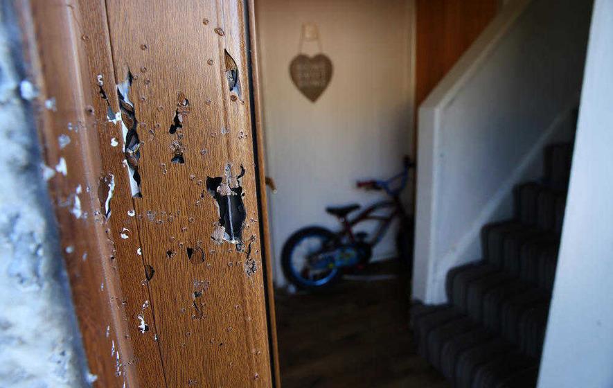 Lurgan shotgun attack third time family have been targeted