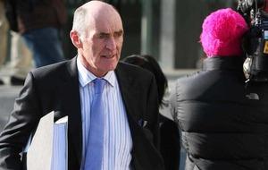 Anglo Irish Bank boss Drumm spends night behind bars