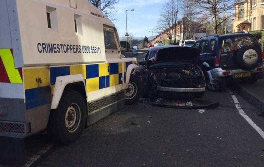 Man (35) arrested following high speed police chase