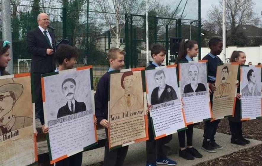 Easter Rising: Schools mark reading of 1916 proclamation