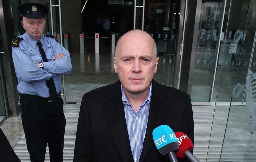 Former Anglo Irish bank boss David Drumm bailed after his parents-in-law stump up surety
