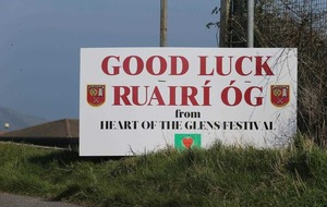 Glens village turns maroon and white as Cushendall prepare for first All-Ireland hurling final