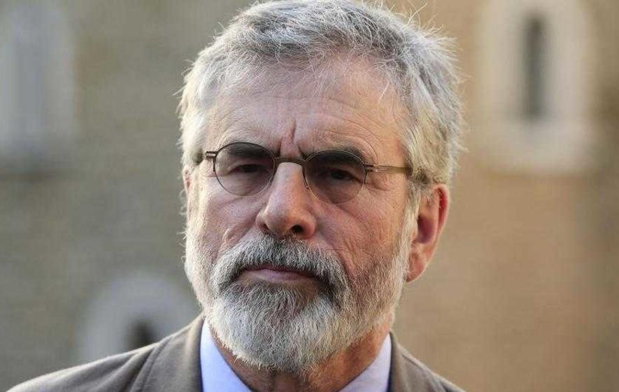 Sinn Féin leader Gerry Adams refused entry to the White House