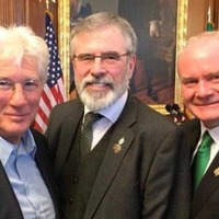 Gerry Adams hits out after being refused entry to White House reception