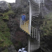The Gobbins tourist attraction on Causeway coast won't be open for Easter holidays after landslide