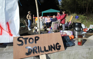 Anti-drilling oil protesters 'no longer facing injunction' over Carrickfergus exploratory well
