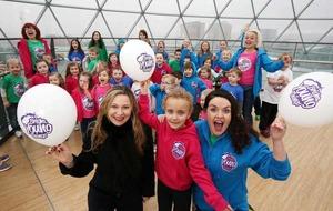 Drama classes under the Belfast dome