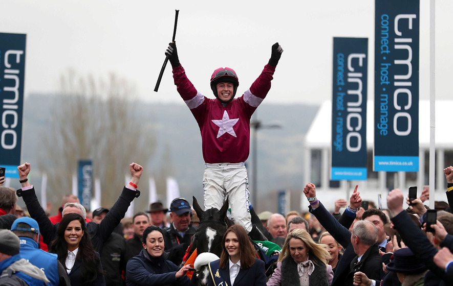 Cooper and Cossack bring home coveted Gold Cup for Elliott