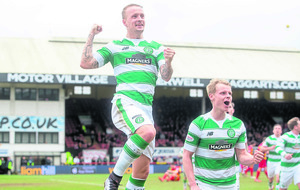 Celtic striker Griffiths keen to keep doing 'his job
