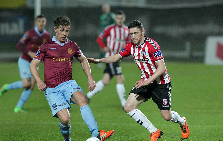 Substitute Nathan Boyle secures win for Derry City