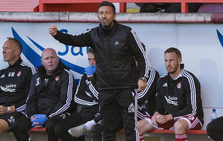Derek McInnes remains calm despite Aberdeen defeat