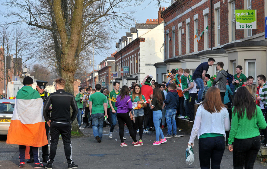 There is no excuse for sheer hooliganism in Holylands