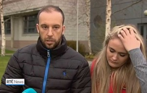 'Save my baby' plea as father handed daughter to rescuer