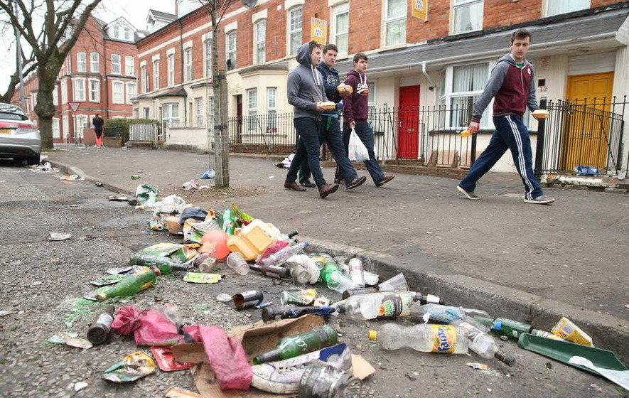 Half of rental properties in Holylands student area unregistered