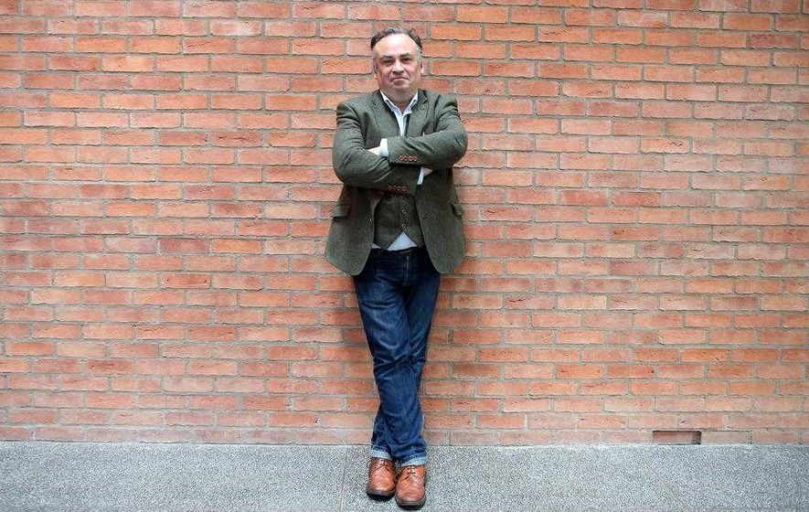 Resurrection man: Belfast playwright Jimmy McAleavey is a Virgin once more