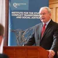 Martin McGuinness: Peace process must move to 'reconciliation phase'