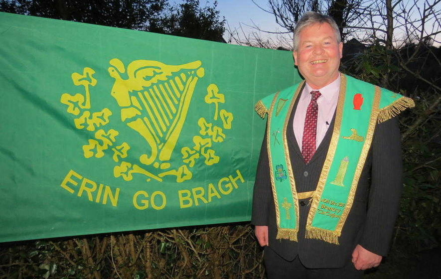 Gerry McGeough elected president of Tyrone AOH