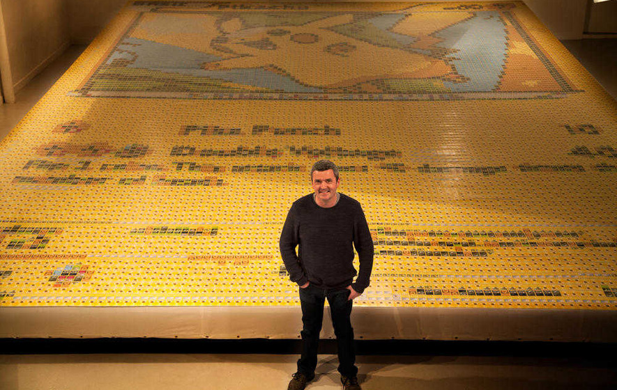 Plumbridge artist sets world record with huge Pokémon mosaic