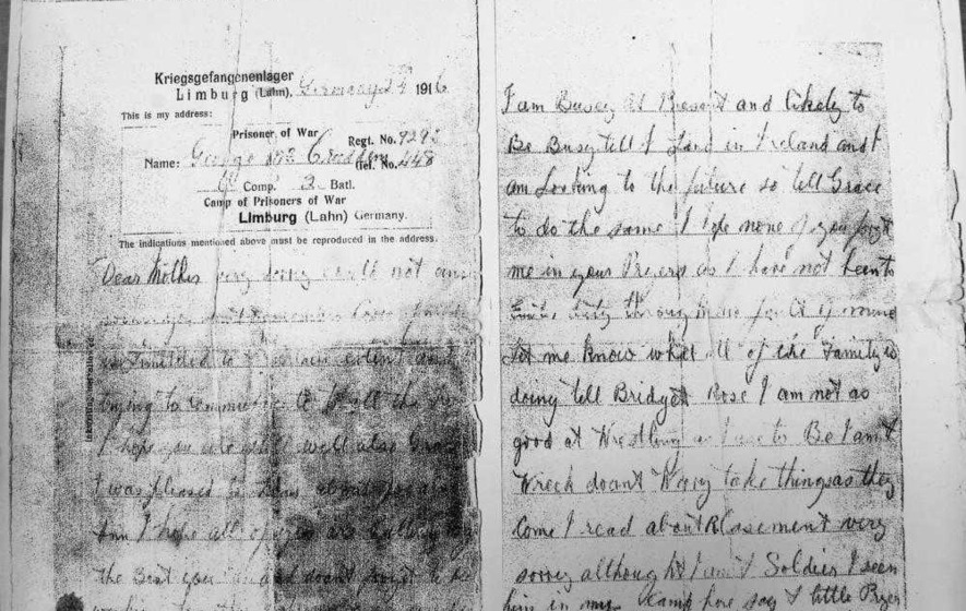 Roger Casement: Belfast family uncovers First World War letter referring to patriot