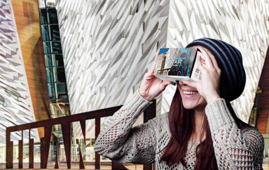 Explore Belfast with new virtual reality app