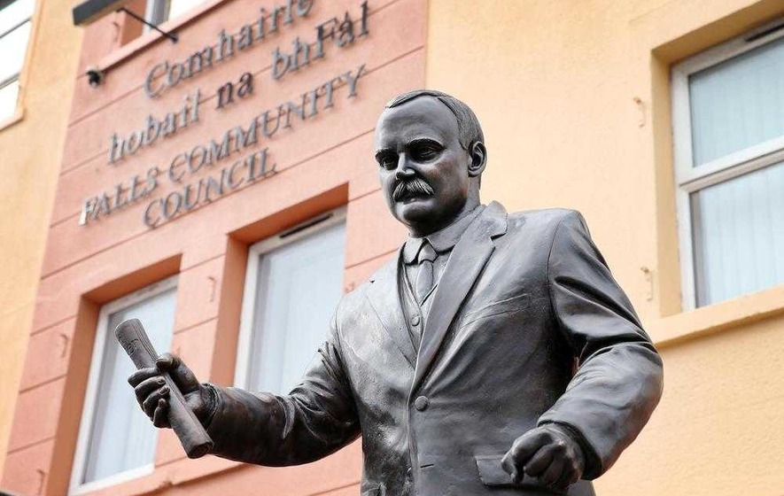 Easter Rising: Statue of James Connolly to be unveiled on Falls Road