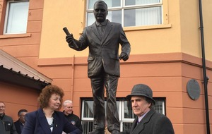 Easter Rising: James Connolly statue unveiled on Falls Road