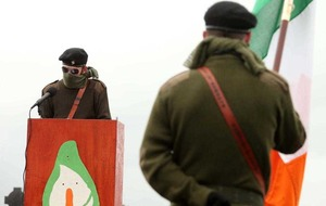 Easter Rising 1916 commemorations: PSNI criticised for failing to intervene as masked dissident republicans march through Lurgan