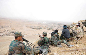 Russian air strikes drive Syrian troops driven out of Palmyra