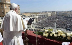 Terrorism 'a blind and brutal form of violence', Pope Francis says in his Easter message