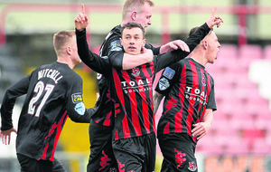 Crusaders get back to winning ways against Dungannon Swifts