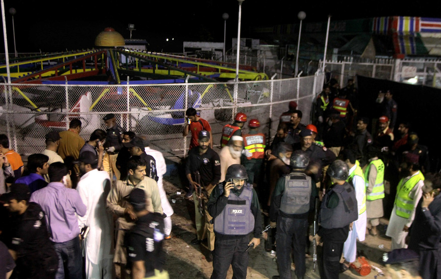 65 killed as suicide bomber targets Christians in Pakistan