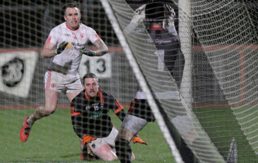 Niall Grimley refuses to let Armagh go down without a fight