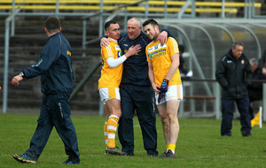 Antrim secure promotion with battling win over Wicklow