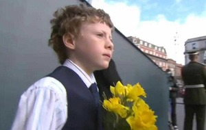 Easter Rising: Tony O'Brien (10) from Portglenone represented Ulster at Dublin events