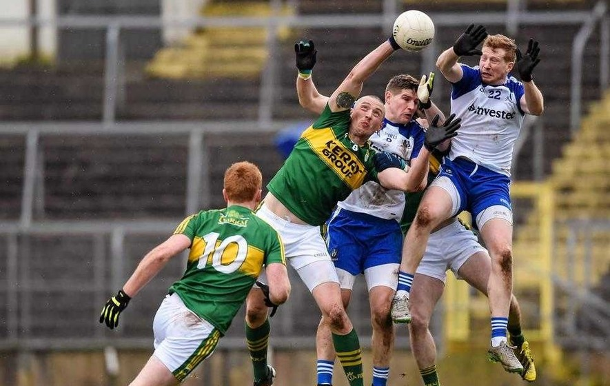 Kieran Donaghy sees net gains from his basketball experience