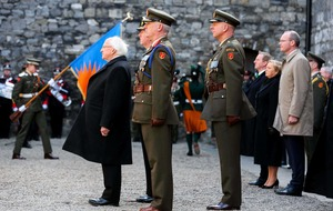 Easter Rising events: Michael D Higgins issues a 'imperial triumphalism' call in speech